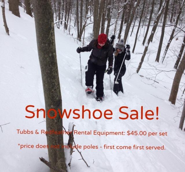 Snowshoe sale